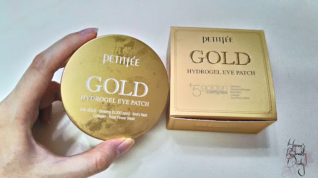 Review; PETITFEE's Gold Hydrogel Eye Patch