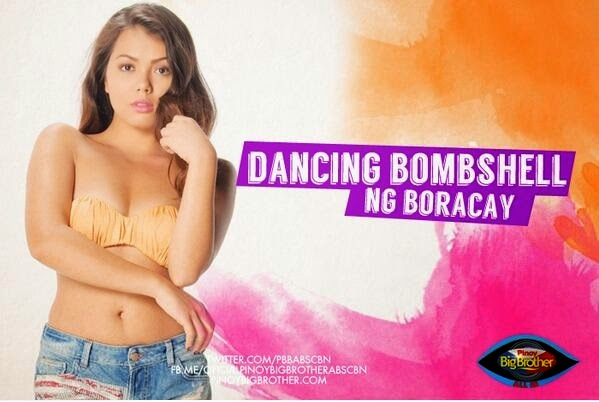 "Pinoy Big Brother All In housemates - Aina Solano ""Dancing Bombshell"""
