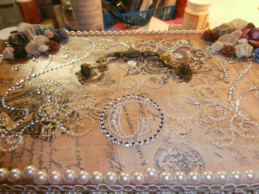 Altered Keepsake Box