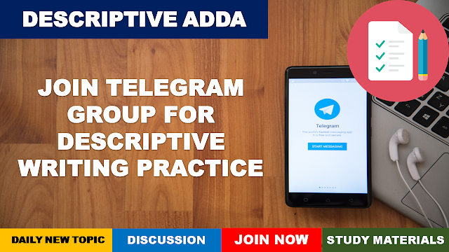 Descriptive Writing Practice Groups on Telegram
