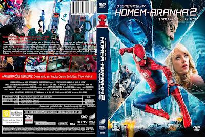 Filme O Espetacular Homem Aranha 2 (The Amazing Spider-Man 2) DVD Capa