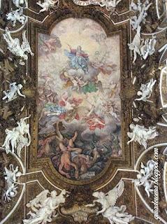 city tour roma portugues santa maria vitoria afresco - O nosso city tour Anjos e Demônios