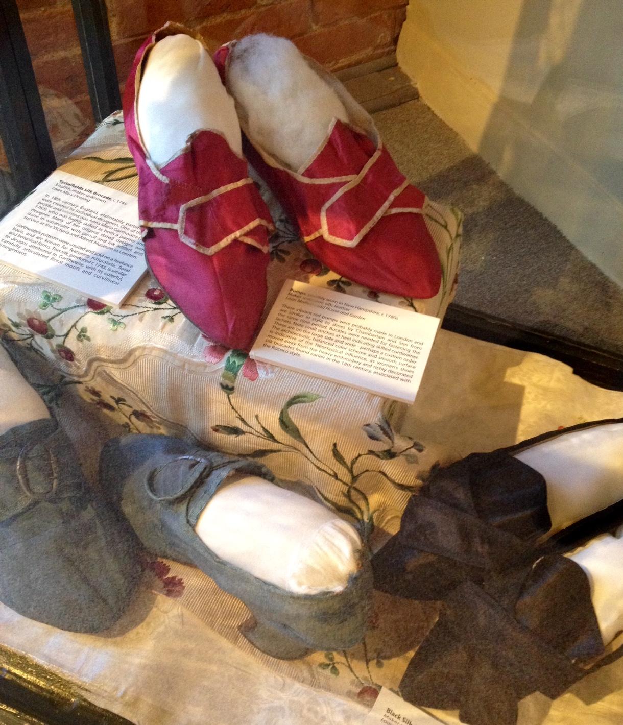 6e63d8781805e SilkDamask : More Red Georgian Shoes