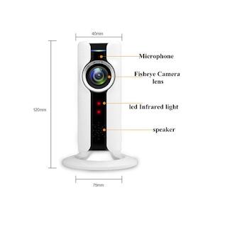Camera WiFi WinTech WTC-IP304 Độ phân giải 1.0 MP  Giá bán lẻ chính hãng: 1,250,000đ