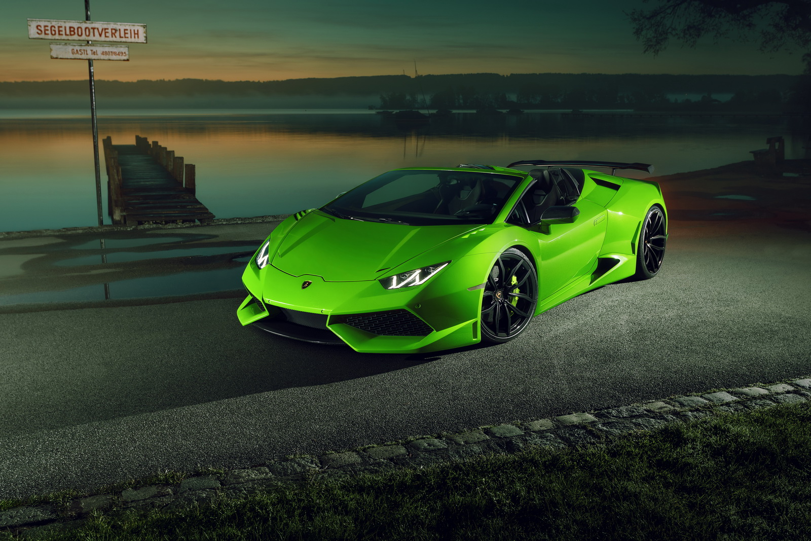 How Does A Supercharged, Widebody Lamborghini Huracan ...