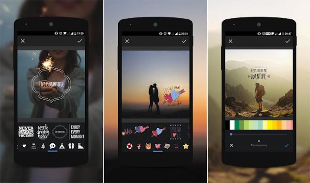 Aplikasi Edit Foto Android - Overlay