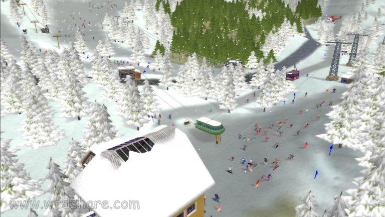 repack link game kecil ringan Ski Park Tycoon