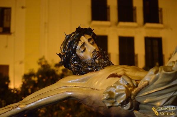 Horario e Itinerario Vía Crucis del Cristo de la Buena Muerte. Jerez de la Frontera 05 de Abril del 2019