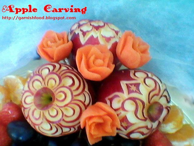 how to prevent apples carving from browing