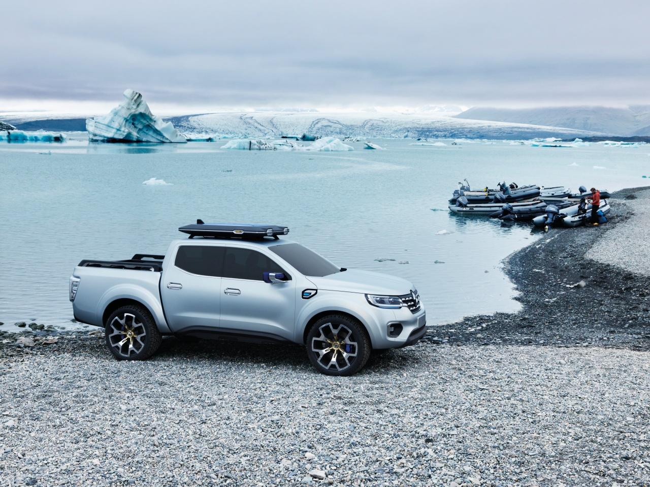 00087648 Η Renault εισέρχεται στην κατηγορία των επαγγελματικών pick-up με το επιβλητικό πρωτότυπο Ζ-U60 Pick-up, Renault, Renault Pro+, Renault Z-U60, Επαγγελματικά