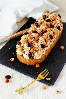 Mokka-hazelnootslof met karamel
