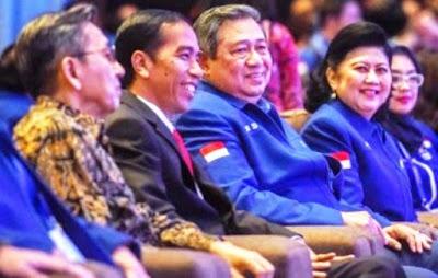 Jokowi Ajak Kader Demokrat Ikuti Agenda Pemerintah