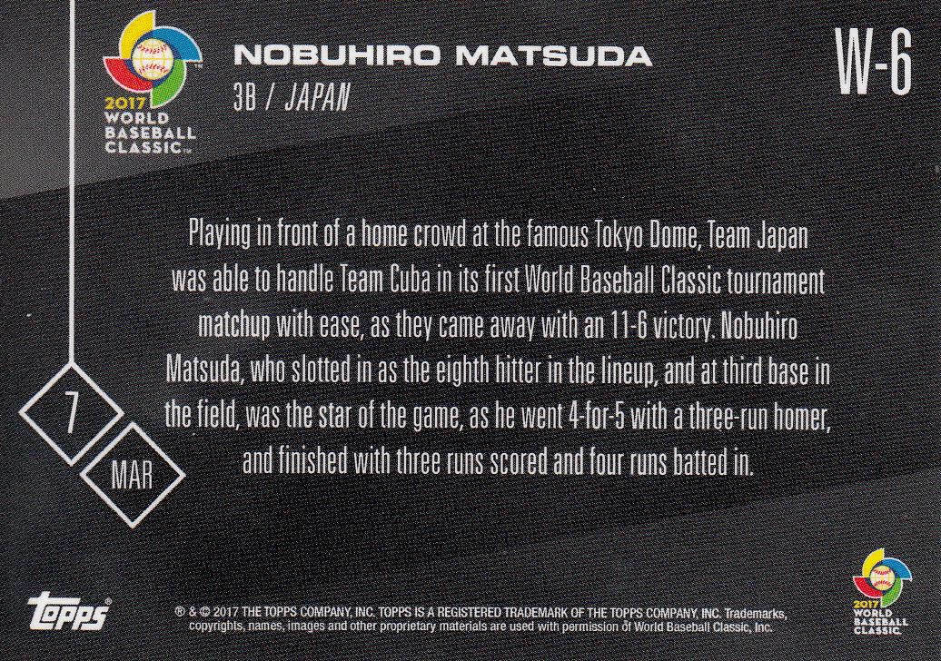 Japanese Baseball Cards Topps Now World Baseball Classic Card Addendum