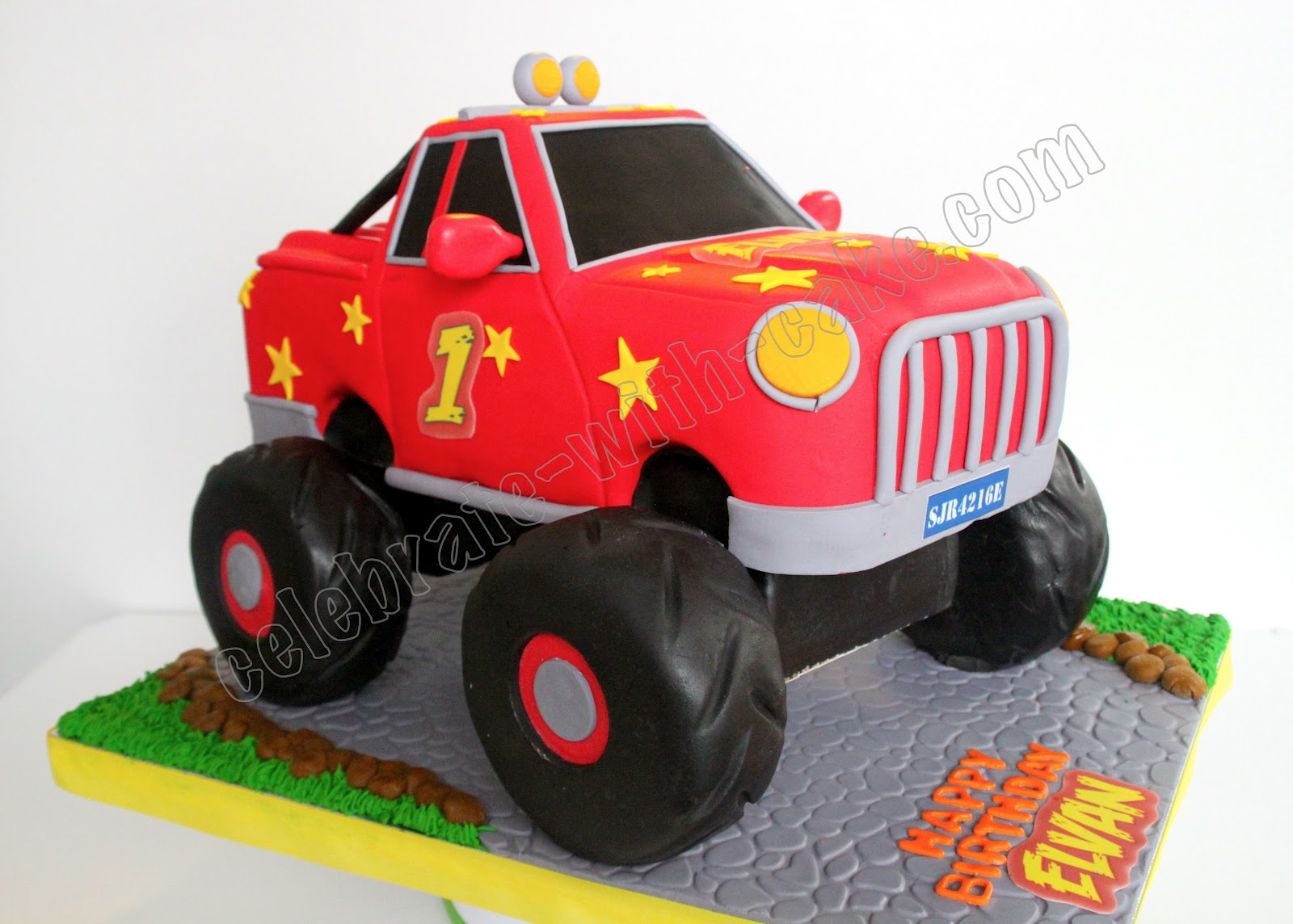 How To Make A 3d Monster Truck Cake Ehow
