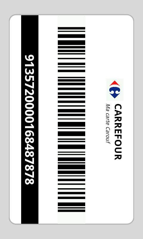 Carte Carrefour Fidelite Code.Prixing Vos Cartes De Fidelite Toujours Sur Vous Avec Prixing