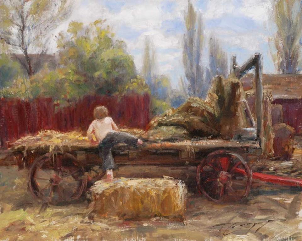 Trent Gudmundsen, 1978 | Spring Morning | Tutt'Art ... Bolivian Children