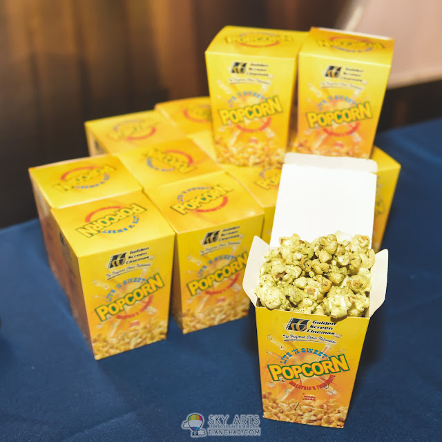 Kirin Kiki 树木希林 at Japanese Film Festival 2016 GSC Pavilion KL wasabi flavor popcorn