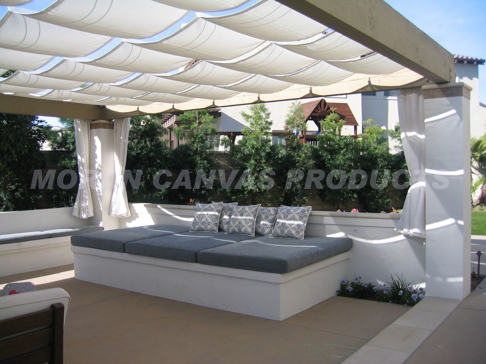 Gorgeous Shade Options Using Canvas 187 Sage Outdoor Designs