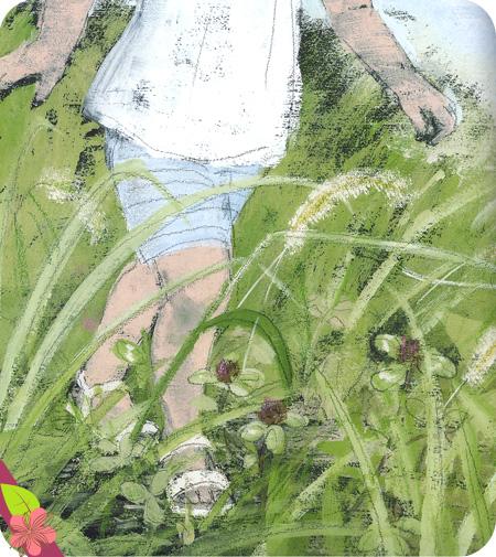 Dans l'herbe de Yukiko Kato et Komako Sakaï