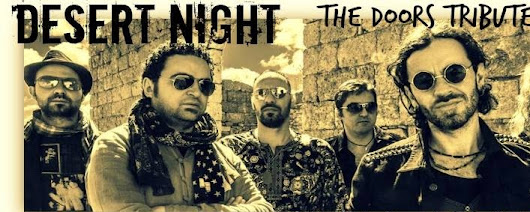 do 10/08 - Desert Night - Doors Tribute Band