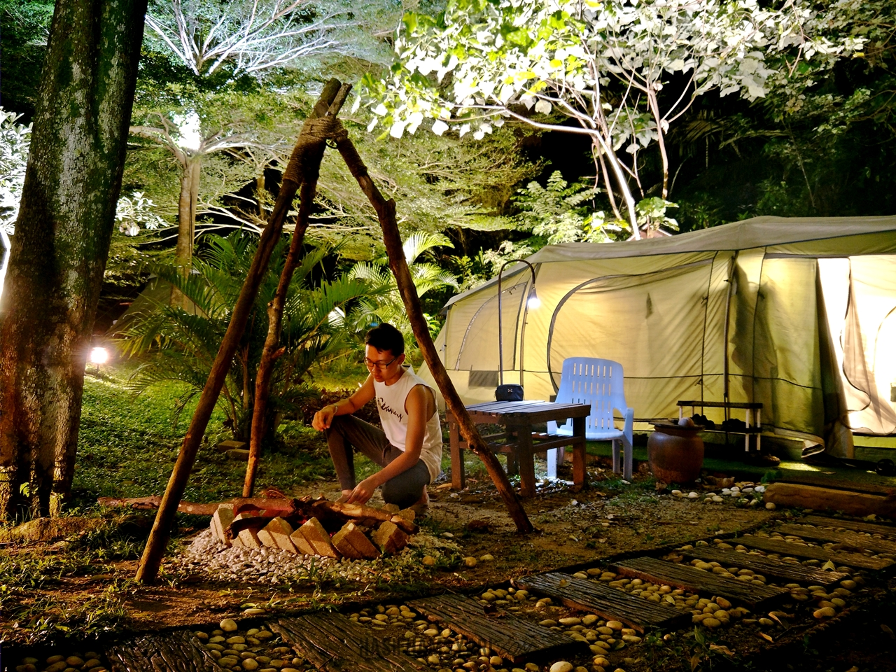 Image result for Lost World of Tambun glamping