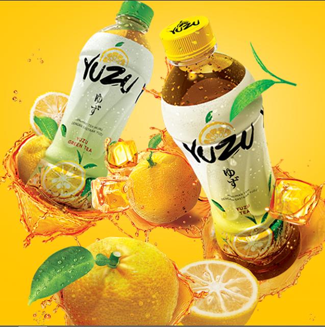 Segarnya Buah Yuzu yang Dikemas Pada Produk Minuman Segar Alami