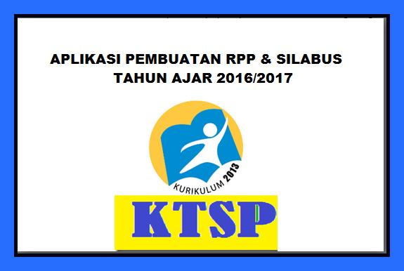 Aplikasi Pembuat RPP Silabus Otomatis Tahun Ajar 2016/2017 Terbaru