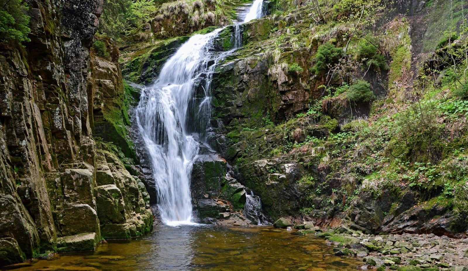 Wodospad Kamieńczyka Karkonosze