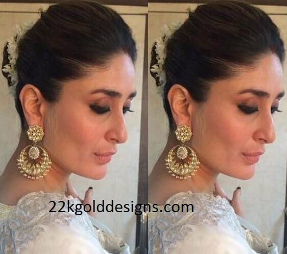 Kareena Kapoor in Chandbalis