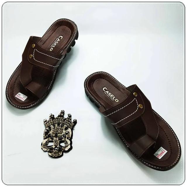Grosir Online Sandal Pria Imitasi | Sandal CS Pria ELF
