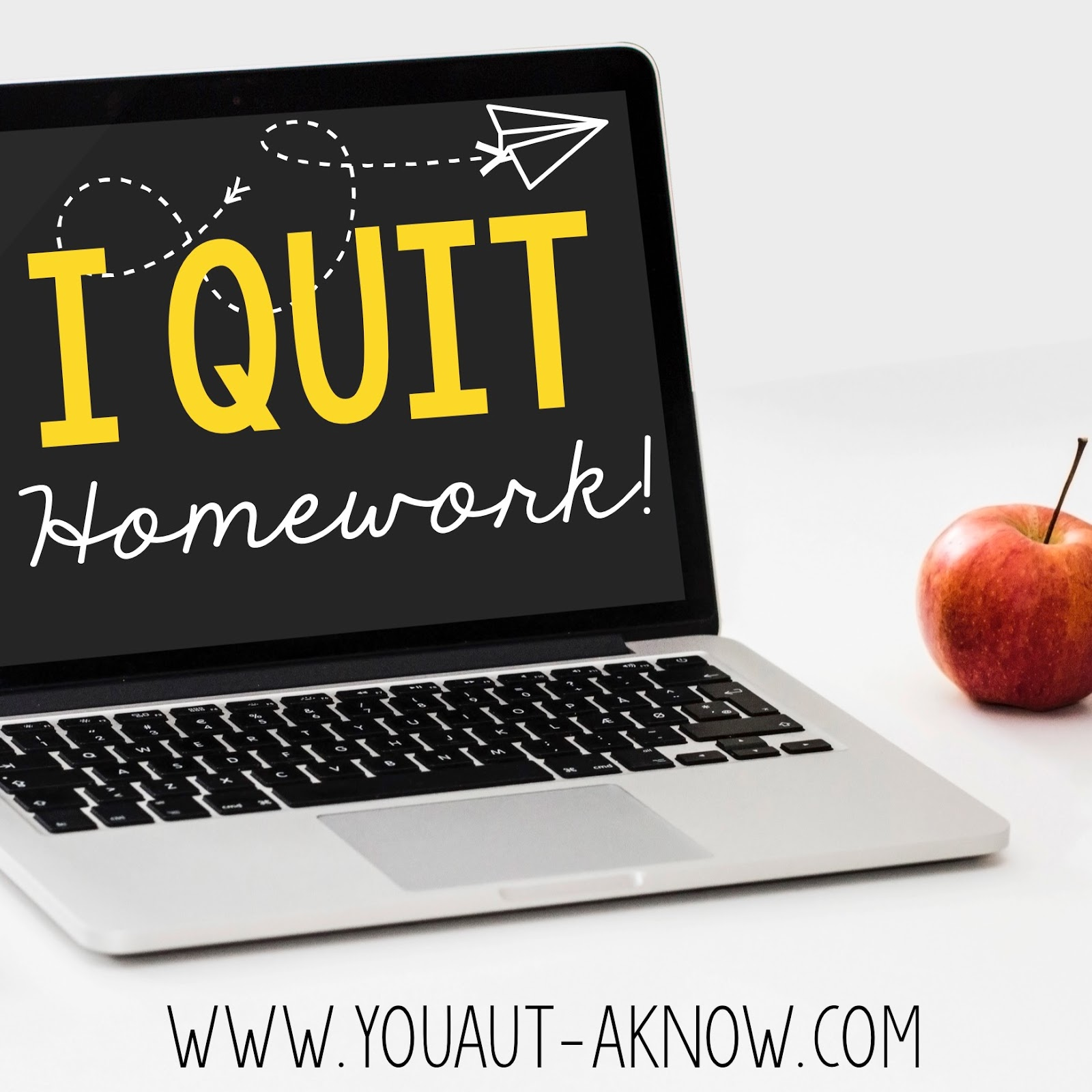 You heard it right, I'm quitting homework. Teacher's don't like homework either and I'm making one simple change in my classroom so I can quit homework while students continue to learn at home.