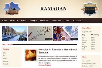Download 4 Template Blogger SEO, Keren, Khusus Tentang Ramadhan | Download Template SEO Gratis