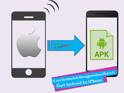 Cara Termudah Menggunakan Share It Dari Android ke iPhone