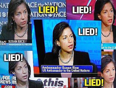 Image result for Susan Rice Lied cartoon