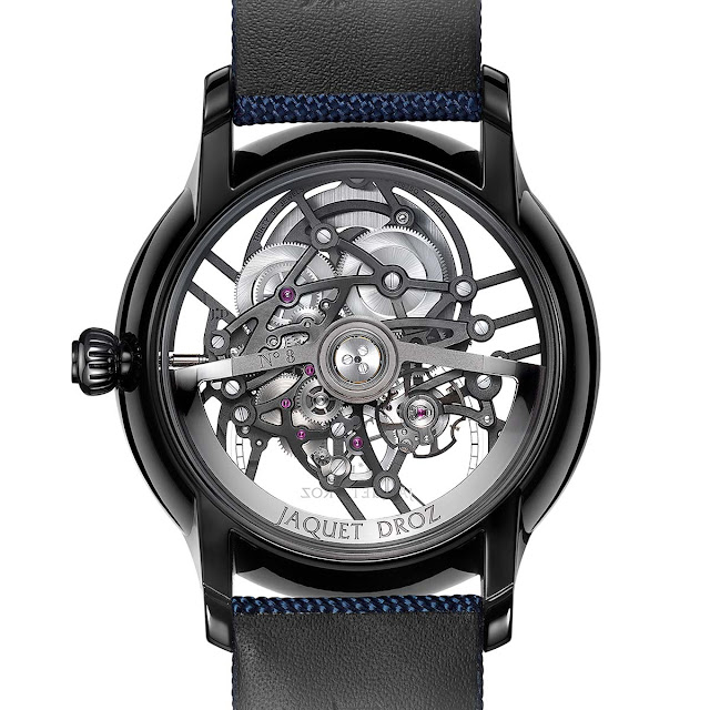 Jaquet Droz Grande Seconde Skelet-One Ceramic ref. J003525541
