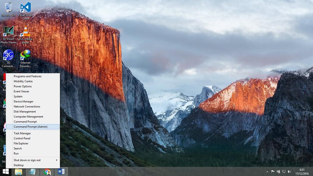 Cara Membuat Wifi Hotspot di Laptop Windows 8 dan Windows 8.1