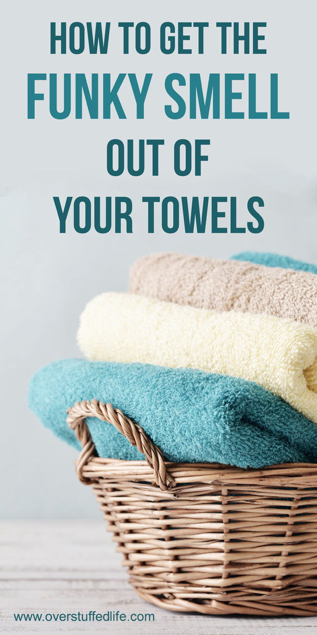 Clean your stinky dishcloths and mildewy towels and make them smell fresh.