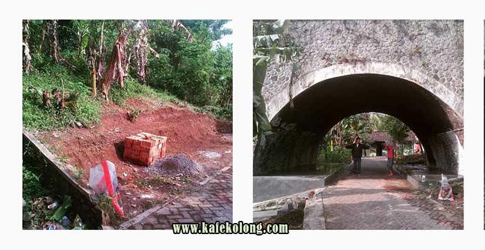 Pembangunan Awal Kafe Kolong Jember