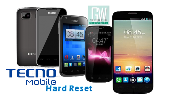 How to Hard Reset (Format) All Tecno Android Phones - The