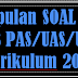 Soal UKK PAI SMP/MTs Kelas 7 Kurikulum 2013 Tahun 2018
