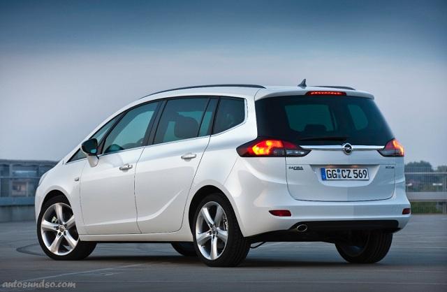 Opel Zafira Tourer 1.6 CNG Turbo ecoFLEX ist umweltfreundlichster Van
