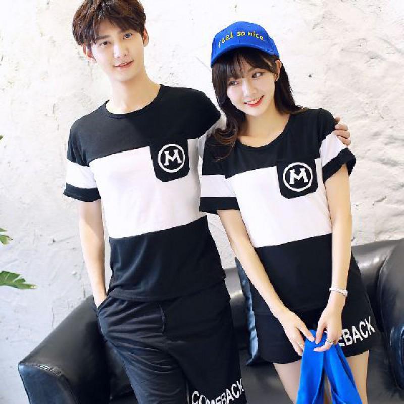 Jual Online Comeback Pocket Couple Murah Jakarta Bahan Combed Terbaru