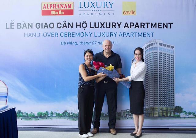 Lễ bàn giao căn hộ Luxury Apartment Đà Nẵng