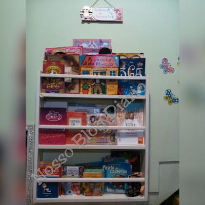 Porta livros Nosso Blog diário http://dulcineiadesa.blogsppot.com