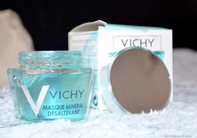masque - masque express - masque mineral - masque mineral desalterant - marque vichy - soin vichy