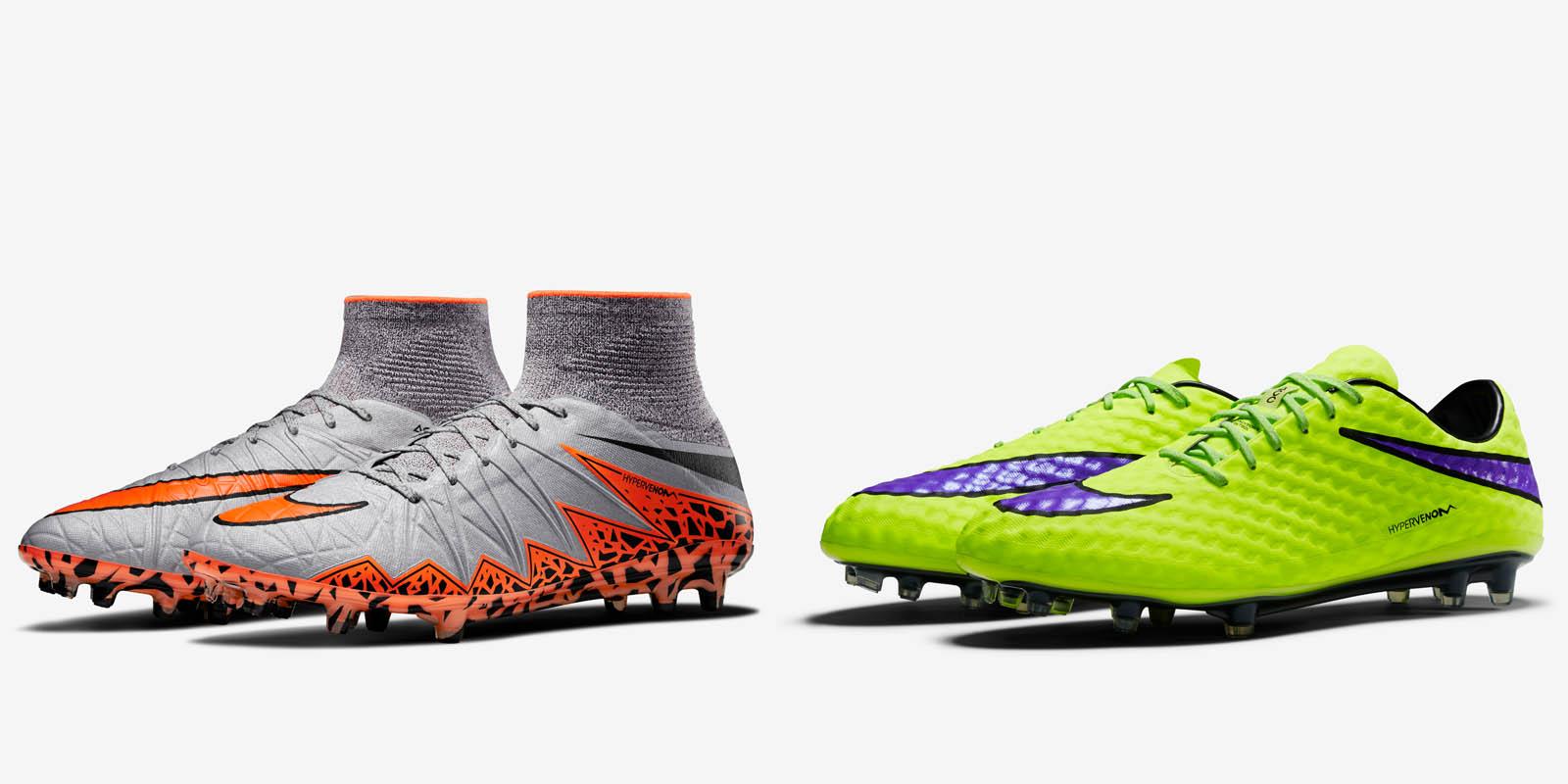 Nike Hypervenom 1 vs Hypervenom 2 - Footy Headlines