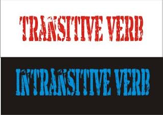 transitive verb dan intransitive verb