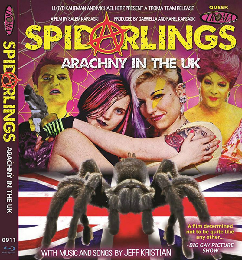 SPIDARLINGS blu-ray