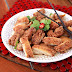 Crispy Chicken with Sweet Sour Lemon Sauce
