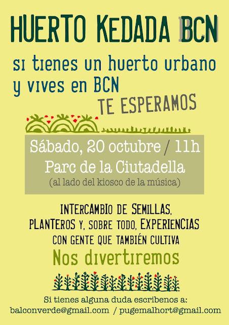 KEDADA DE HUERTOS URBANOS EN BARCELONA